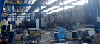 Almacén de productos siderúrgicos